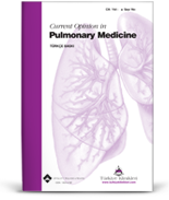 Current Opinion in Pulmonary Medicine
