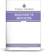 Turkiye Klinikleri Nutrition and Dietetics - Special Topics