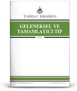 Turkiye Klinikleri Traditional and Complementary Medicine - Special Topics